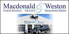 MACDONALD AND WESTON INVERCARGILL FUNERAL DIRECTORS